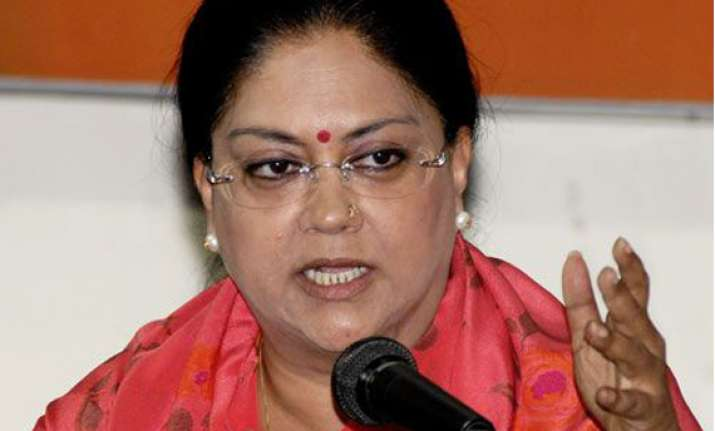 gehlot s timely action could have saved bhanwari raje