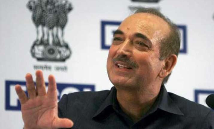 ghulam nabi azad made leader of congress in rs set to