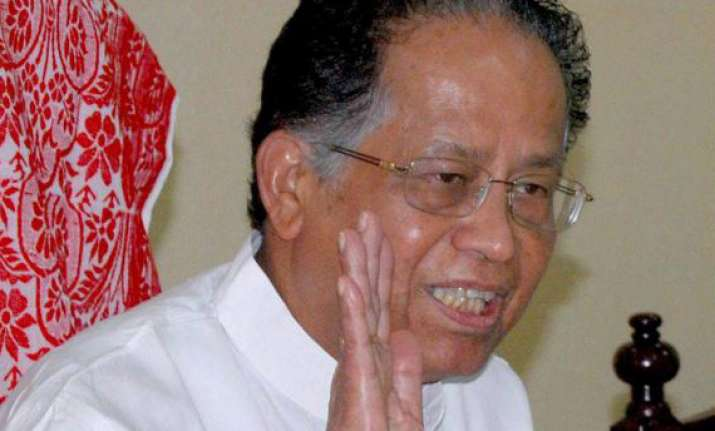 gogoi rules out division warns against violence