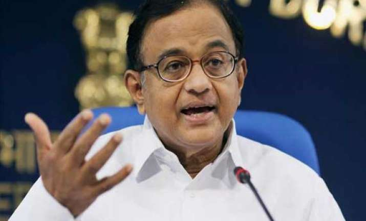 going to polls with intention to win form govt chidambaram