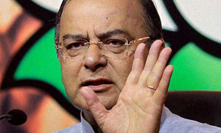 government seeks consensus only in distress jaitley