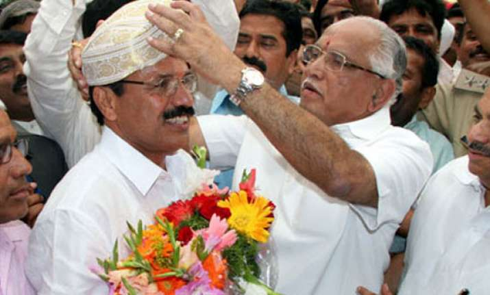 gowda completes 100 days in office amidst political crisis