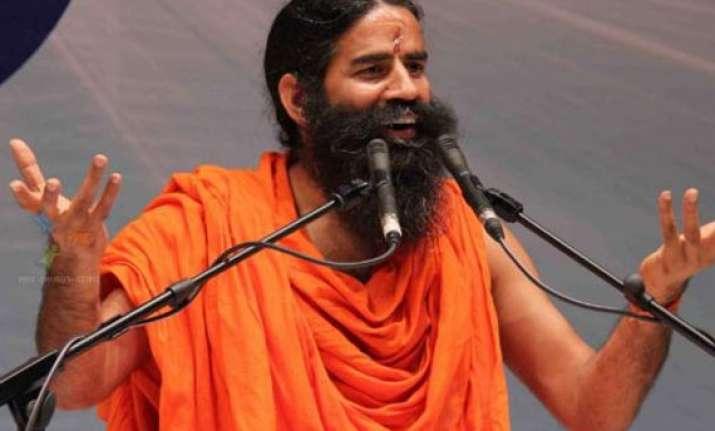 gujarat activist says ramdev flouted poll code ceo seeks
