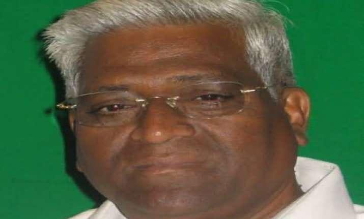 gujarat dissident bjp leader kashiram rana passes away