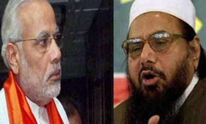 hafiz saeed tweets to modi focus on indian muslims not on