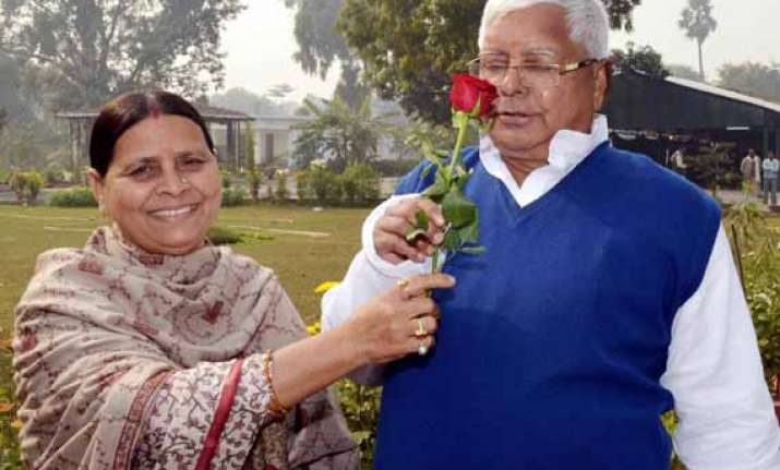 half of rabri s body is mine says lalu prasad