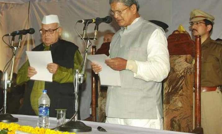 harish rawat is the new cm of uttarakhand