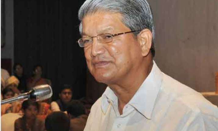harish rawat seeks additional funds of rs 4000 cr from