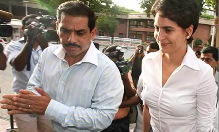 haryana government springs to vadra s defence