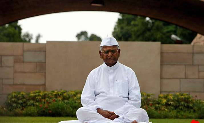 anna hazare comes out with new blog handle