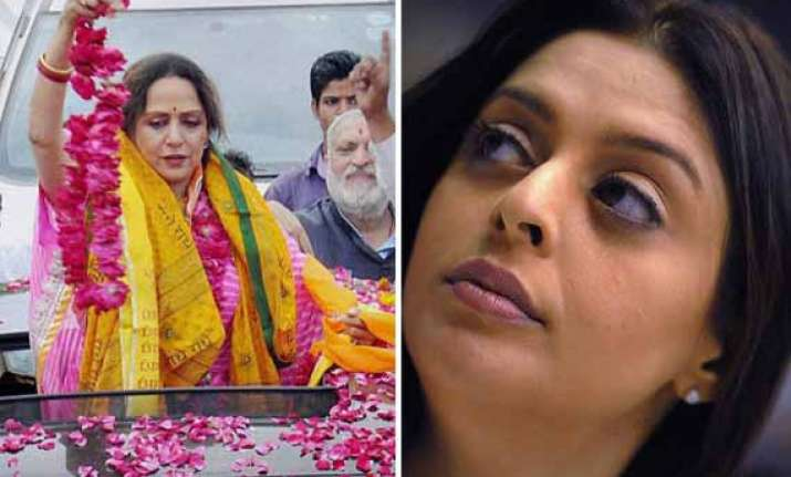 hema malini and nagma to get special police protection