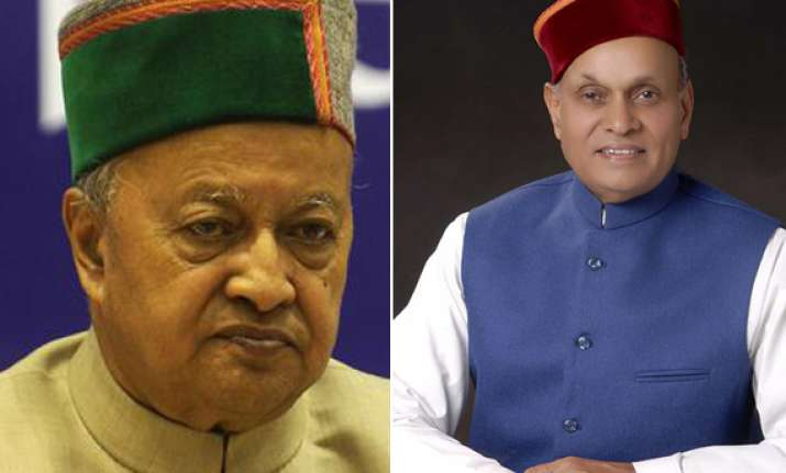 himachal cm asks union minister not to resort to lies