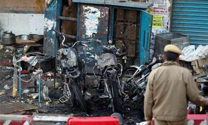 hyderabad bomb blasts who said what