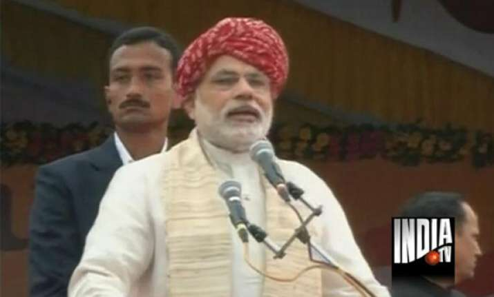 i day speech modi makes caustic remarks at pm refers to