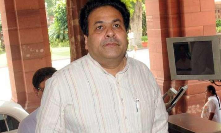 ipl betting congress backs rajeev shukla