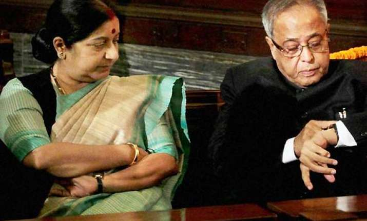 i admire sushma s eloquence not her comments on economy