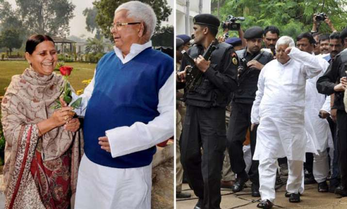 in pics lalu s journey from emergency hero to fodder scam