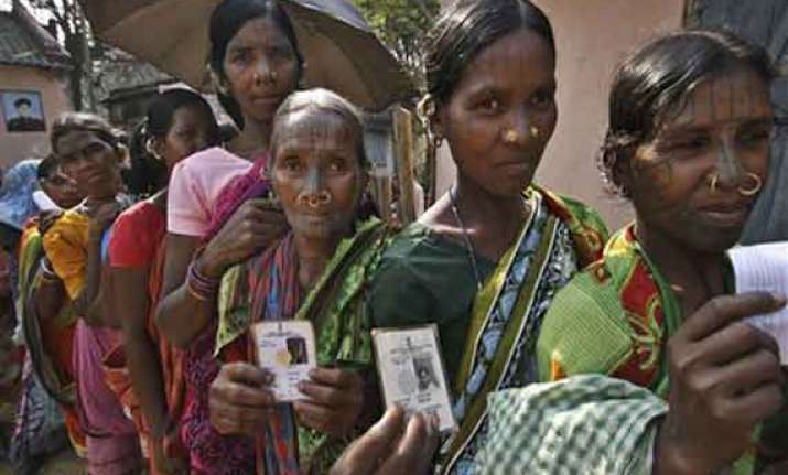 in pics millions vote in seventh phase of indian election
