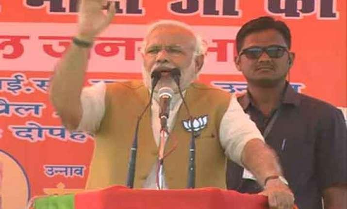 in pics narendra modi s rallies in uttar pradesh