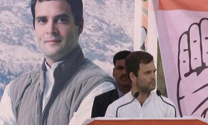 in pics rahul gandhi s rally in himachal pradesh