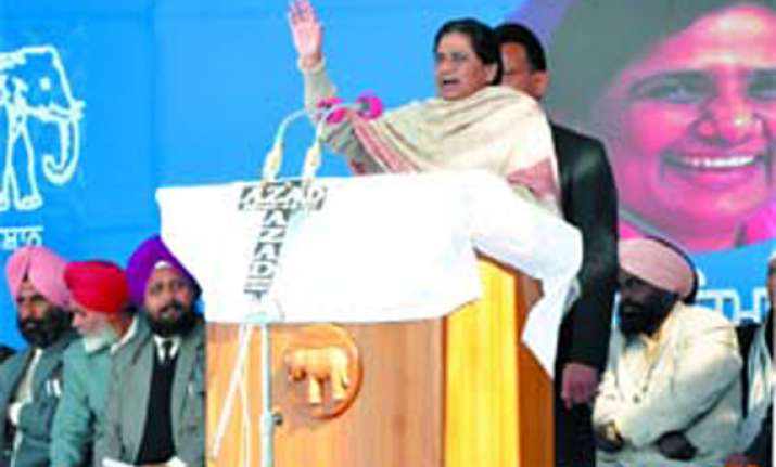 india needs a dalit daughter as pm mayawati tells punjab
