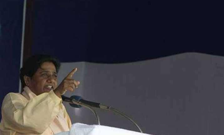 india would face riots if modi becaomes pm says mayawati