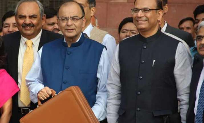 arun jaitley s budget has all pm modi s stamp on it