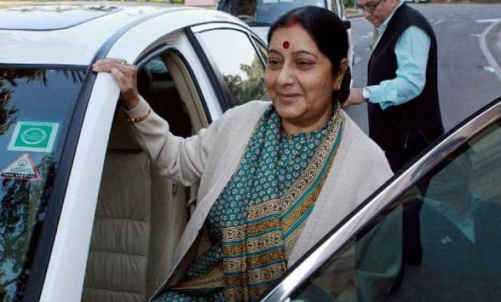 process on to bring back gita from pakistan sushma swaraj