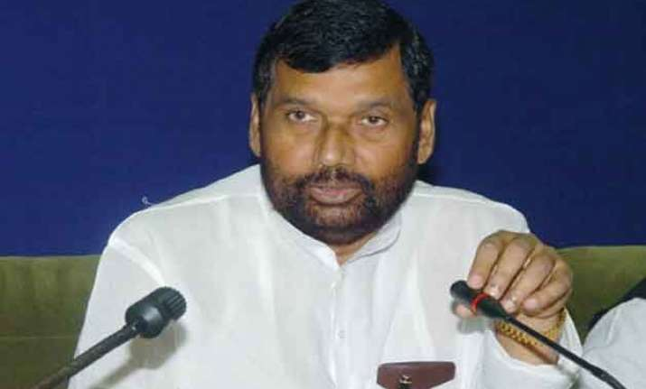 paswan bats for reservation for dalits in private sector