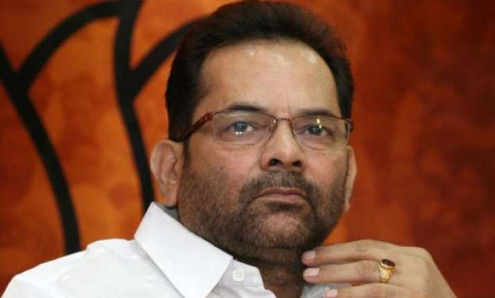 naqvi takes stock of flood situation in kashmir