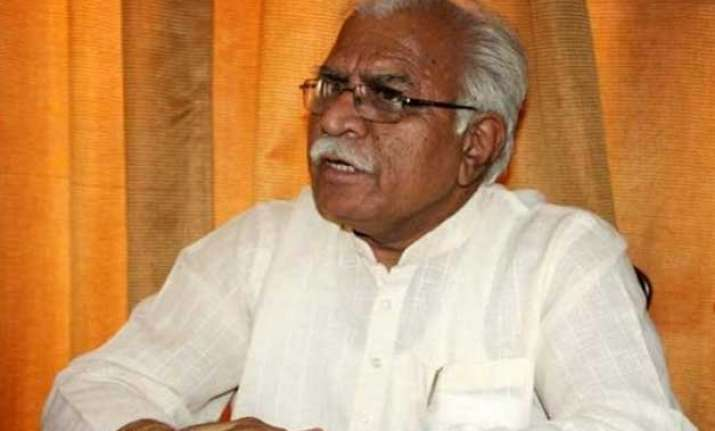 cm khattar calls upon bjp mlas to serve people