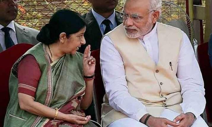 pm modi god s gift sushma swaraj a national asset venkaiah