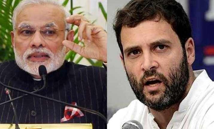 stop making speeches start action rahul tells pm modi