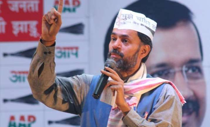 yogendra yadav planted stories against kejriwal during