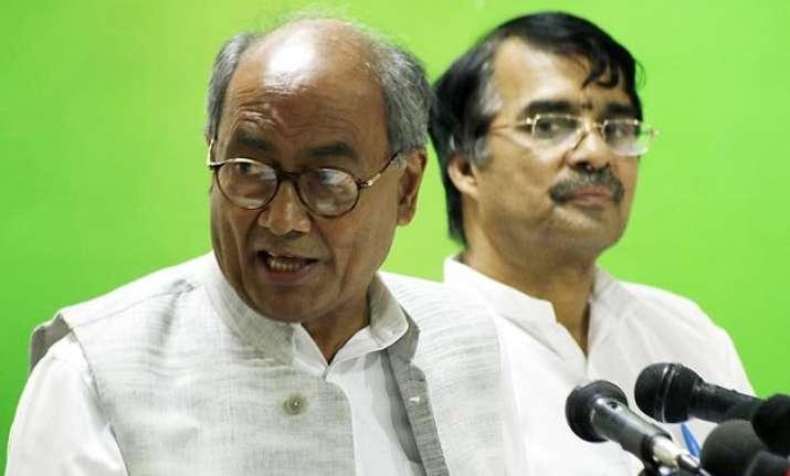 digvijaya singh dubs modi led central government upa 3