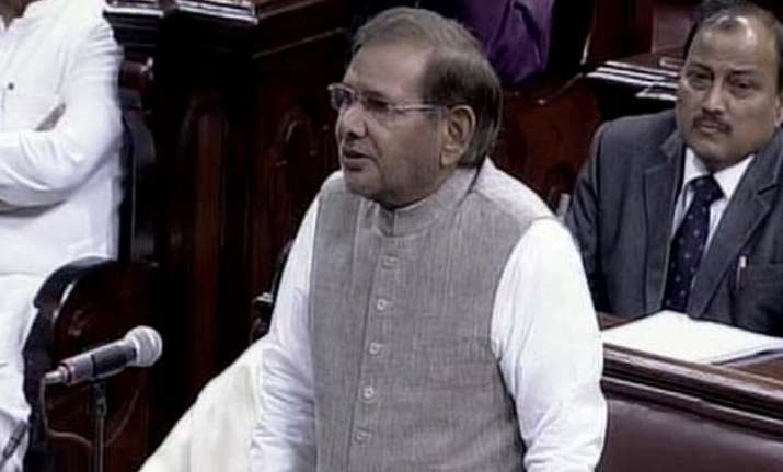 have the greatest respect for smriti irani sharad yadav on
