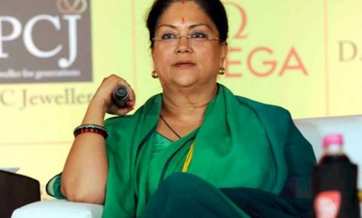 vasundhara raje likely to expand her cabinet today