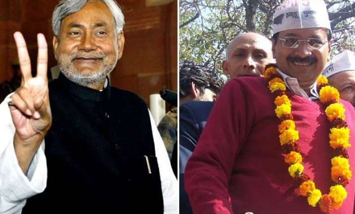 new political combines emerge in bihar as nitish does a
