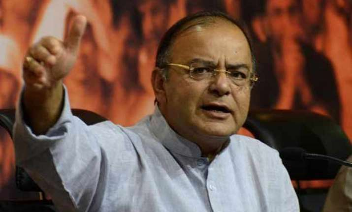 bjp criticises congress for giving dissent note on gst bill