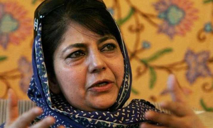 mehbooba mufti remains undecided about govt formation in j k
