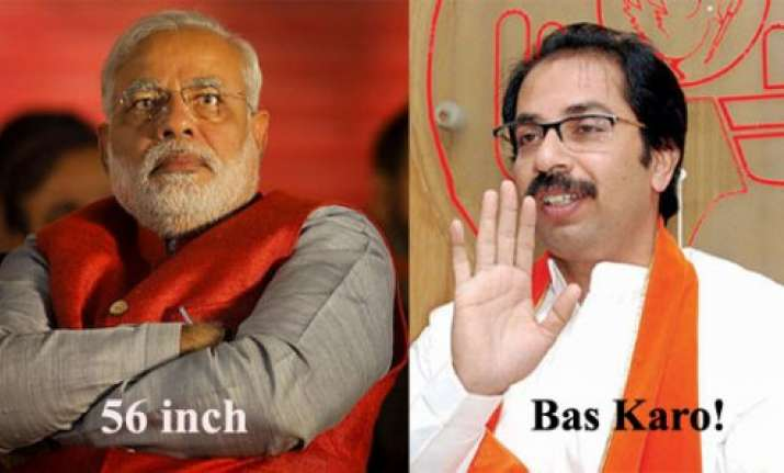 uddhav vs modi war of words