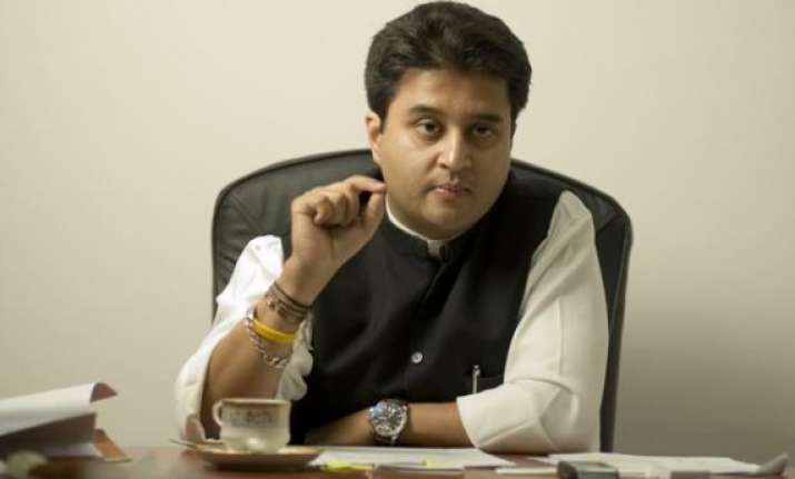pm must make statement on religious conversions jyotiraditya