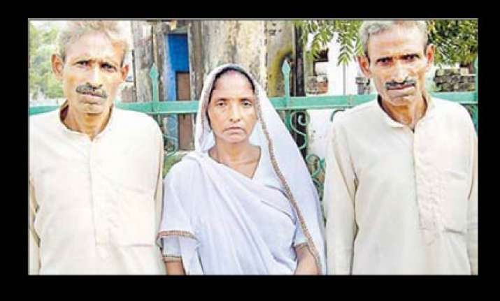 twin husbands field wife for badayun district panchayat