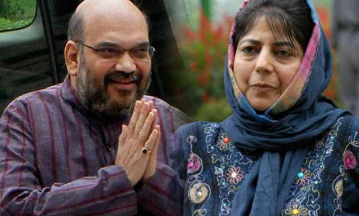 bjp pdp close to seal alliance in jammu and kashmir