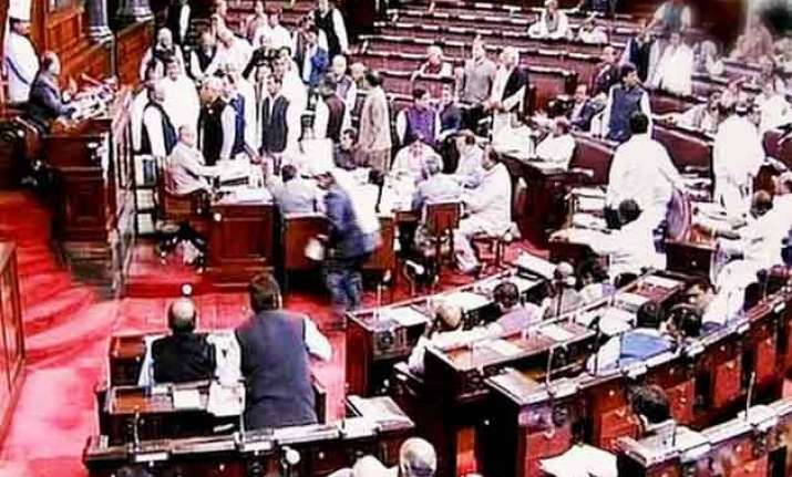 nda govt targets smaller parties in rajya sabha for land