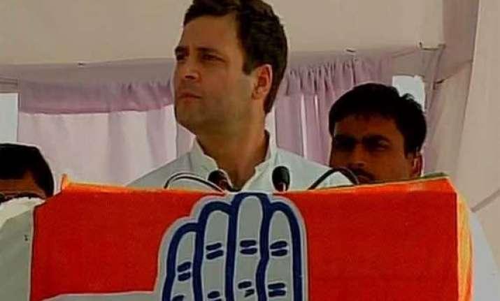 haryana polls modi is working for big industrialists