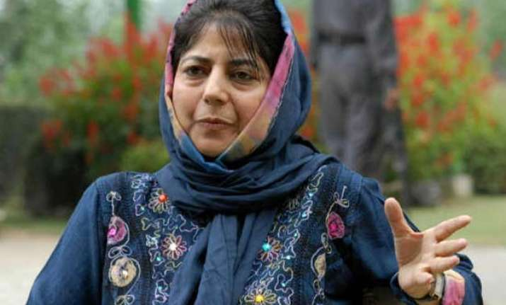 will prefer principle over power mehbooba mufti on govt