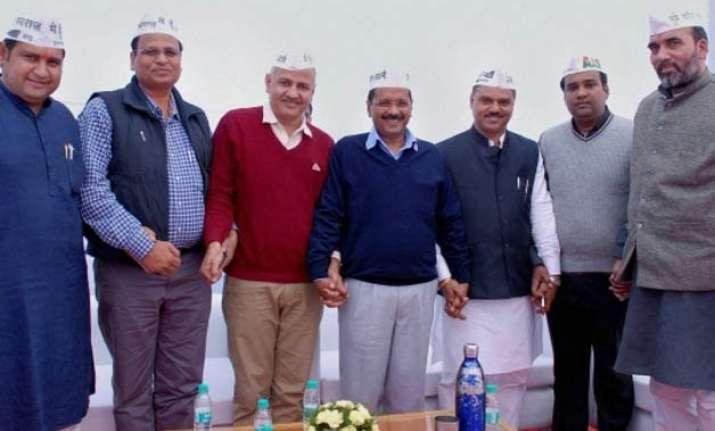 arvind kejriwal balances his cabinet with social engineering