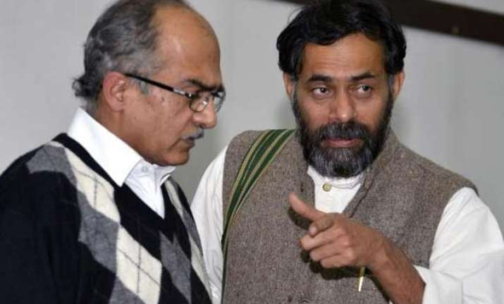 exit of bhushan and yadav was scripted before the national
