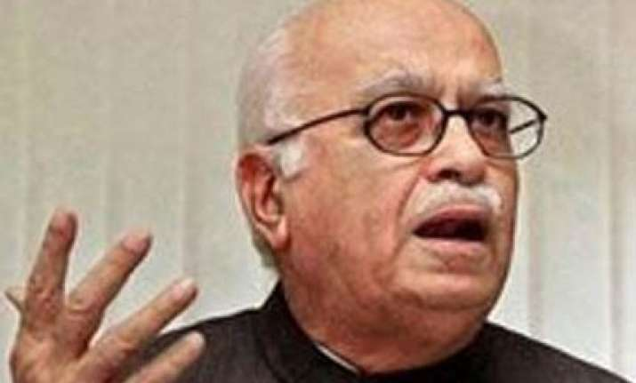 govt s u turn on indo pak talks was at us nudge advani